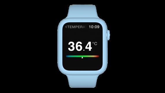 Smartwatch Front Blue