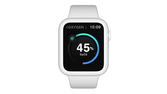 Smartwatch Front White